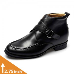 Altolia Leather Height Increasing Boots