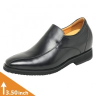 Mens Black Formal Height Increasing Shoes